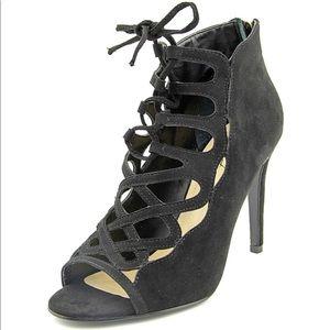 Black lace up heel from Dillard's
